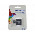MicroSDHC 16GB adata 10