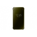 EF-ZG920BFE Samsung Clear View Pouzdro Gold pro G920 S6
