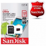 MicroSDHC 128GB Sandisk Class 10
