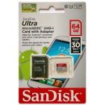 MicroSDXC 64GB sandisk