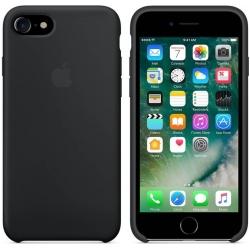 Pouzdro Apple iPhone 7-8 Silicone Case black