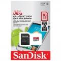 MicroSDXC 16GB sandisk
