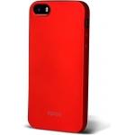 Pouzdro iWant Glamy ochranné Apple iPhone SE červené