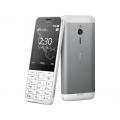 Nokia 230 DualSIM White Silver